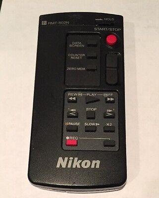 Nikon RMT-502N Remote Control For Nikon vn-500 Camcorder