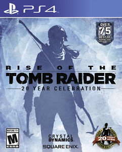 Rise of the Tomb Raider: 20 Year Celebration - PS4 - Like New