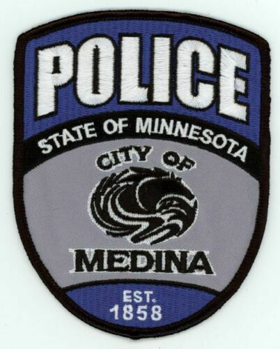 MEDINA POLICE MINNESOTA MN COLORFUL PATCH SHERIFF