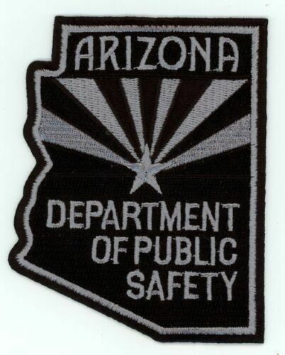 ARIZONA AZ DEPARTMENT OF PUBLIC SAFETY SUBDUED STATE SHAPED PATCH POLICE SHERIFF