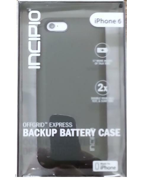 new style c5ce7 032e7 Details about Incipio OffGRID Express Backup Battery Charging Case for  Apple iPhone 6-4.7