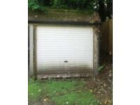 Small piece of land or single garage/lock up wanted