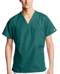 Like-New Men's Cherokee Scrubs, in Hunter & Navy