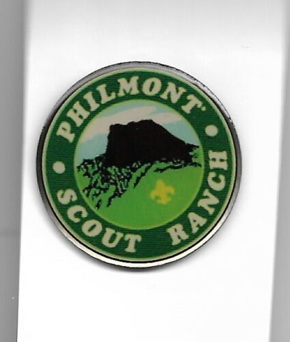 PHILMONT SCOUT RANCH * TOOTH OF TIME HAT PIN * 1 1/4 INCH