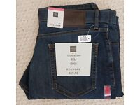 M&S Jeans Stormwear Regular W36/L33 New with Tags ** Make a sensible offer **