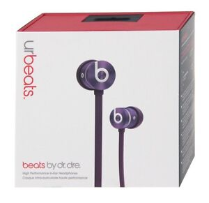 Beats by Dre urBeats In-Ear Headphones (purple) Brand New Free Shipping