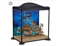 Pirates fish tank 17 litre