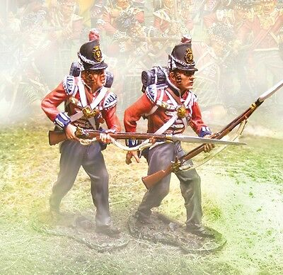 THE COLLECTORS SHOWCASE BRITISH NAPOLEONIC CS00556 FOOT GUARDS ADVANCING MIB