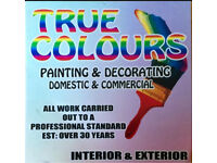 TRUE COLOURS PAINTING & DECORATING SERVICE