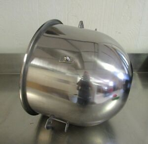 New Stainless Steel 20 Qt Bowl for Hobart Mixer