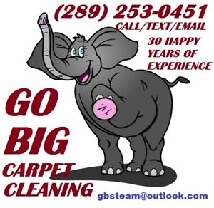 CARPETS/FURNITURE GO BIG $109 4 ROOMS 5 FREE SPOT  REMOVAL