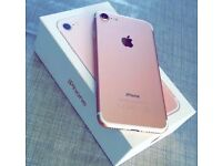 Apple iPhone 7 rose gold 32GB EE network