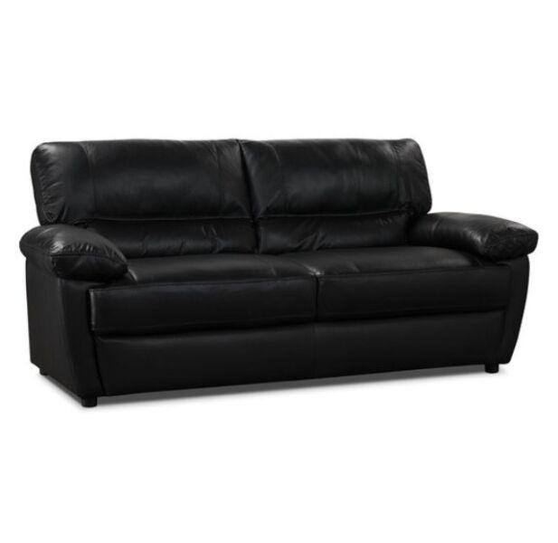 Brand new genuine lather sofa from bricks couches for Sofa couch winnipeg