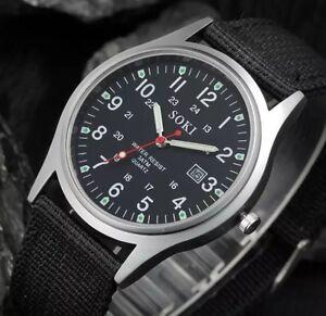 Men's Military Style SOKI Quartz Watch
