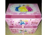 Princess jewellery / storage box