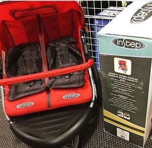 IN-STEP Double Jogging Stroller BRAND NEW
