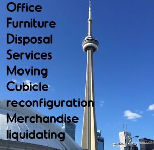 CUBICLES & OFFICE FURNITURE LIQUIDATION SERVICES AVAILABLE +++