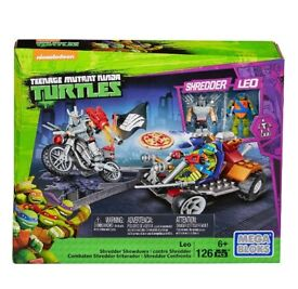 Mega Bloks Teenage Mutant Ninja Turtles Leo Shredder Showdown Construction Set RRP £19.99