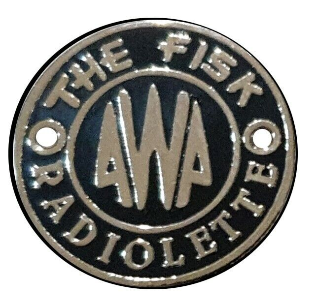 Awa Radiolette badge new! These are the historically correct ones . HERE NOW