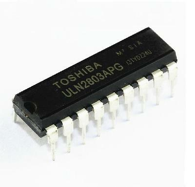 10PCS ULN2803 DRIVER DARL 8CH 50V .5A 18DIP TOSHIBA NEW GOOD QUALITY  on Rummage