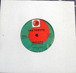 """Pop Novelty The Tweets - Birdie Song 7"""" Vinyl 1981 JG1 Blacktown Area Preview"""