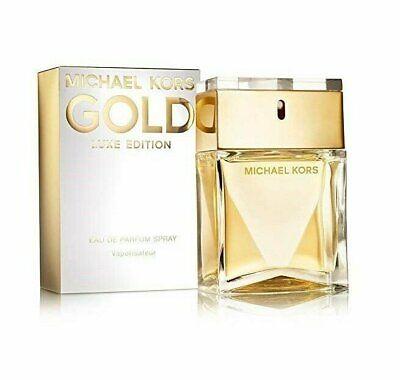 Gold Luxe Edition By Michael Kors 3.4 Oz EDP Spray NIB