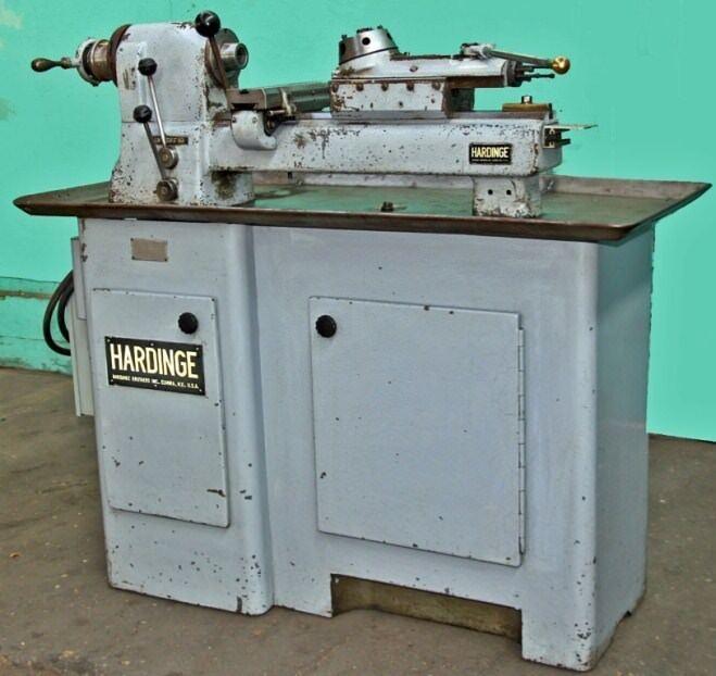 Hardinge Model Dv-59 Precision Second Operation Turret Lathe