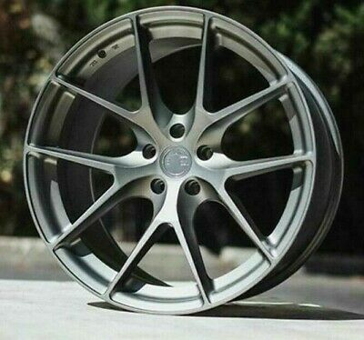 19x8.5 5x112 +35 Aodhan LS007 Wheels Gun Metal Fit Audi A4 A5 19 Inch Rims Set 4