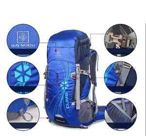 New 50L  Cycling Bag School Hiking Backpack Camping Travel
