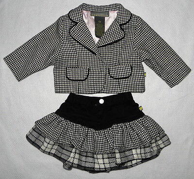 Kenneth Cole Baby Mädchen Weihnachts Outfit 12 Monate - Baby Weihnachts Outfits