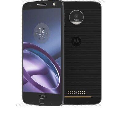 Android Phone - Motorola XT1650M Moto Z Force Verizon Unlocked 32GB Black Smartphone Cell Phone