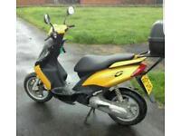 50cc yamaha machG scooter