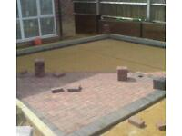 Builder fencing patios paving gardener slabbing groundwork free quotes