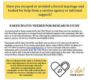 Forced Marriage Research Project