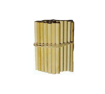 "1"" Mini Wooden Dowel Rods -250 ct"