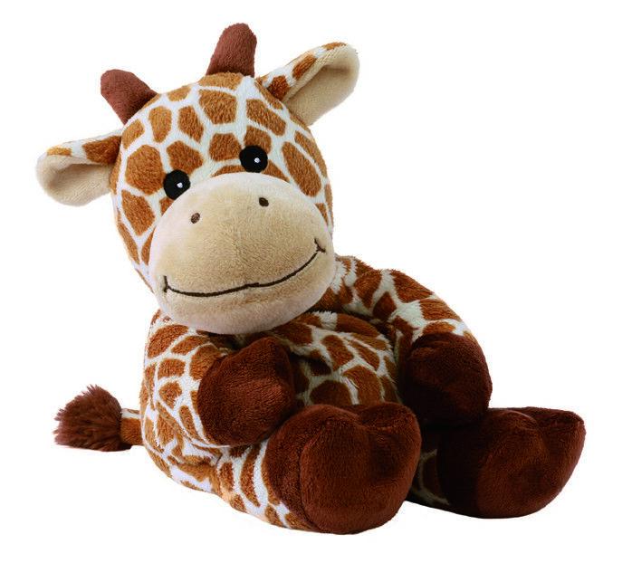 Original Warmies Greenlife Wärmestofftier Wärmekissen Körnerkissen Wärmetier NEU Giraffe Giraffana