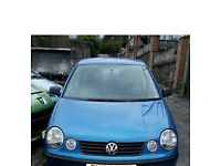 VW Polo 03 plate (sensible offers welcome)