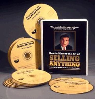 How To Master The Art of Selling Anything - Tom Hopkins - 13 CDs  $ BRAND NEW $