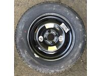 Citroen C4 Space Saver Wheel With A NEW Michelin 195/65/R15