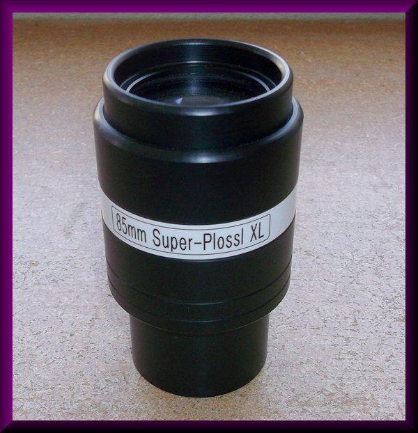 """2 inch 85mm Super-Plossl Telescope """"XL"""" Eyepiece"""