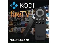 Amazon fire tv stick loaded with latest kodi 16.1