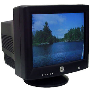 Old CRT computer monitor