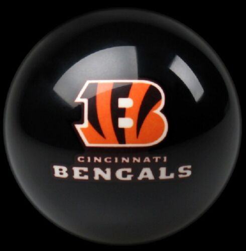CINCINNATI BENGALS NFL TEAM BILLIARD GAME POOL TABLE CUE 8 BALL REPLACEMENT