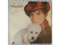 "Barbra Streisand 'Songbird' 12"" VINYL LP, £5 ONO"