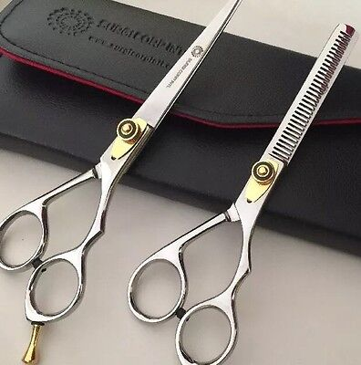 "Professional Barber Hairdressing Scissor Thinning Hair Cutting 6"" RAZOR SHARP"