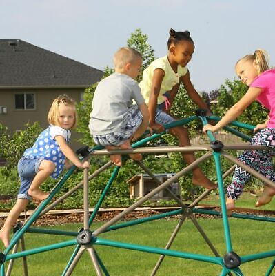 Childrens Climbing Frames - Outdoor Climber Dome Climbing Frame Jungle Gym Monkey Bar Playground Activity