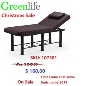 Big Sale-Stationary Tattoo Massage Facial Table Bed From $160