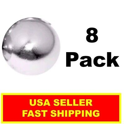 Neodymium Sphere Magnet 12 Inch N52super Strong Ball Rare Earth 8 Pack