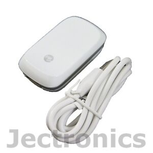 OEM HTC White Wall Charger + Micro USB Data Travel Cable for Mytouch 4G 3G Slide
