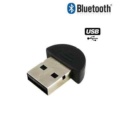 Bluetooth Mini USB Wireless Adapter Dongle Receiver PC Windows XP 7 8 8.1 10